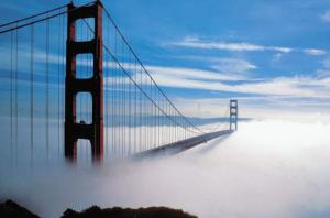 Golden Gate in Fog (image courtesy of Encyclopedia Britannica)
